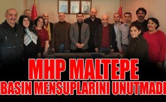 MHP MALTEPE, BASIN MENSUPLARINI UNUTMADI