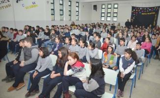 Okullarda geri dönüşüm eğitimi devam ediyor