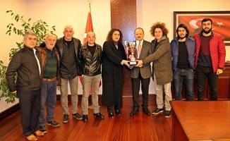 Şampiyon Maltepe Yıldızspor'dan Kaymakam Dallı'ya Ziyaret