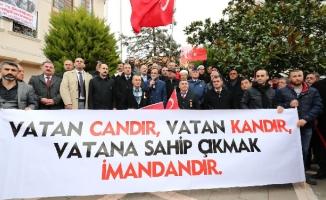 ŞİLE'DEN AFRİN'E DESTEK!