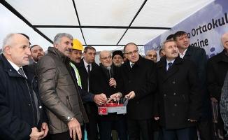 Tokatköy İmam Hatip Ortaokulu'nun Temeli Atıldı