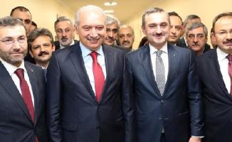 AK Parti İl Başkanı Bayram Şenocak'tan Başkan Uysal'a iade-i ziyaret