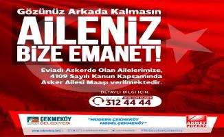 ASKER AİLELERİNE DESTEK