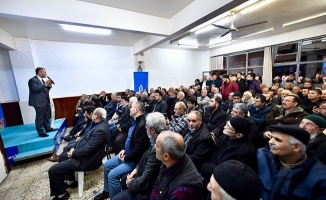 Hilmi Türkmen mahalle sakinleri ile bir araya geliyor