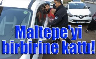 Maltepe'yi birbirine kattı!