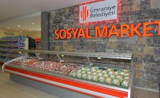 Ümraniye Belediyesi Sosyal Marketleriyle Yüzler Gülüyor!