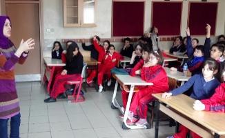 Ümraniyeli öğrenciler Çevre Eğitimi konusunda bilinçleniyor