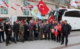Beykoz'dan Afrin'e Destek