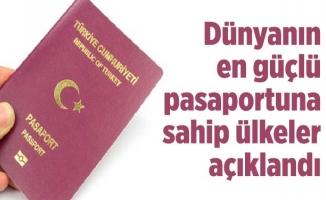 Dünyanın en güçlü pasaportuna sahip ülkeler açıklandı…
