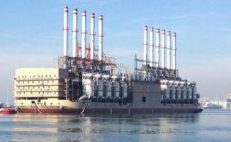 İstanbul'a yüzer elektrik santrali geliyor