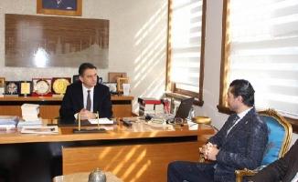 İYİ Parti Ümraniye'den Kaymakam Dervişoğlu'na Nezaket Ziyareti