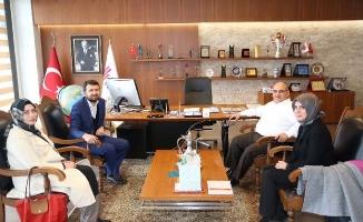 TÜRGEV Genel Müdürü'nden Başkan Hasan Can'a ziyaret