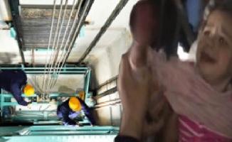 Asansör kapısına eli sıkışan çocuğun iki parmağı koptu