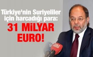 Türkiye'nin Suriyeliler için harcadığı para: 31 milyar Euro!