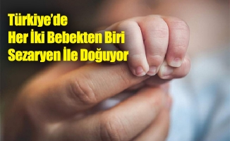 Türkiye'de Her İki Bebekten Biri Sezaryen İle Doğuyor