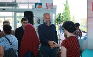 Başkan Poyraz, Mesai Arkadaşlarıyla Bayramlaştı