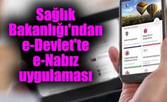 Sağlık Bakanlığı'ndan e-Devlet'te e-Nabız uygulaması