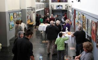 Kartallı Sanatseverler 'Yaşam' Adlı Karma Resim Sergisinde Buluştu