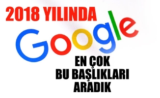 2018 YILINDA GOOGLE'DA EN ÇOK BU BAŞLIKLARI ARADIK