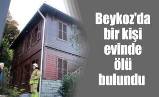 Beykoz'da bir kişi evinde ölü bulundu