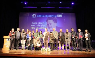 Büyük Türk Şairi Nazım Hikmet Kartal'da Anıldı