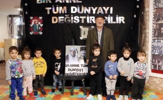 Kartallı Minikler Atatürk'ün Annesi Zübeyde Hanım'ı Andı