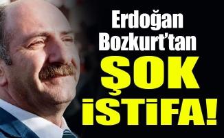 Erdoğan Bozkurt'tan şok istifa!