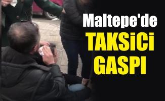 Maltepe'de taksici gaspı