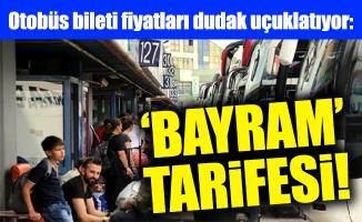Otobüs bileti fiyatları dudak uçuklatıyor: 'Bayram' tarifesi!