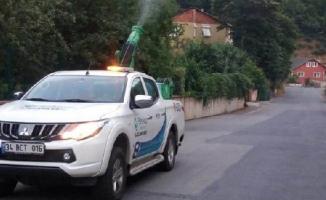 Beykoz'da Sivrisinek İlaçlama Çalışmaları Sürüyor