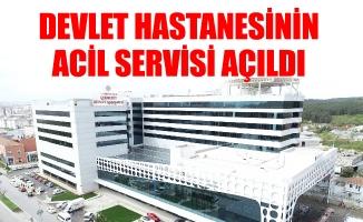Devlet Hastanesinin Acil Servisi Açıldı