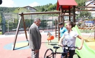 Tokatköy Şehit Bayram Top Parkı Yeniden Cıvıl Cıvıl
