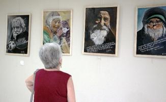 """""""Fırçamın Ucundaki Şiirler"""" Sergisi, Kartal'da Ziyarete Açıldı"""