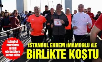 İstanbul Ekrem İmamoğlu ile birlikte koştu