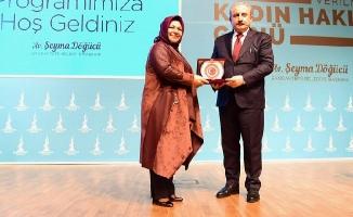 Kadın Hakları Günü Programı TBMM Başkanı Mustafa Şentop'un Katılımıyla Gerçekleşti