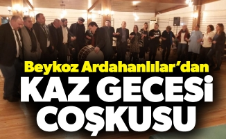 Beykoz Ardahanlılar'dan Kaz GecesiCoşkusu