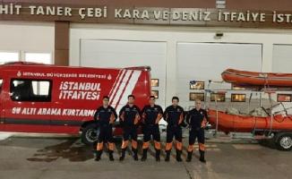 İBB, Tunceli'ye Su Altı Arama Kurtarma Ekibi Gönderdi