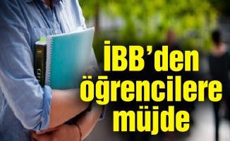 İBB'den öğrencilere müjde