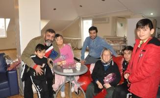 Sarıgazispor'da örnek davranış. Bakım evindeki yaşlıları mutlu ettiler