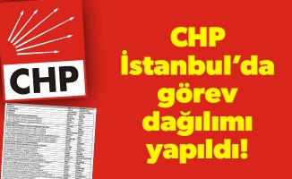 CHP İstanbul'da görev dağılımı yapıldı!