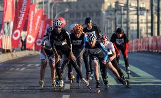VODAFONE 15. İstanbul Yarı Maratonu'nda Patenciler Koşuculara Eşlik Edecek