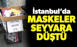 İstanbul'da Maskeler seyyara düştü