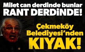 Milet can derdinde bunlar rant derdinde! Çekmeköy Belediyesi'nden kıyak..