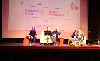 Kartal Belediyesi'nin Kültür ve Sanat Etkinlikleri Sosyal Medya Üzerinden Devam Ediyor