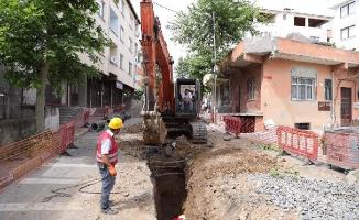 Kartal'ın Altyapı Sorununu Çözecek Olan Çalışmalar, Korona Kısıtlamasında Hız Kazandı