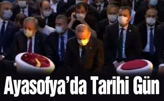 Ayasofya'da Tarihi Gün