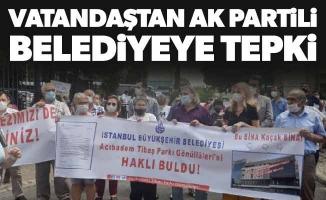 Vatandaştan Ak Partili Belediyeye Tepki