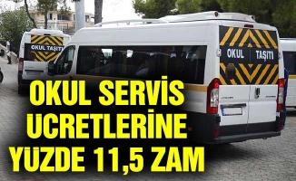 UKOME, OKUL SERVİS ÜCRETLERİNE YÜZDE 11,5 ZAM YAPTI