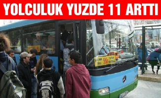 HAFTA İÇİ YOLCULUK YÜZDE 11 ARTTI
