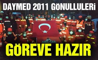 DAYMED 2011 GÖNÜLLÜLERİ GÖREVE HAZIR